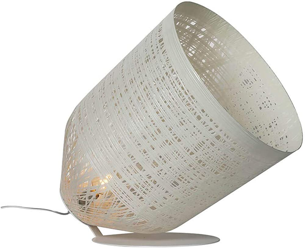 Karman black out, lampada da terra con paralume in vetroresina bianco HP1013B INT