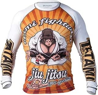 Jab Sales and Distro Jiu Jitsu Zen Gorrilla Rash Guard No Gi MMA Compression Shirt Tatami Rash Guard