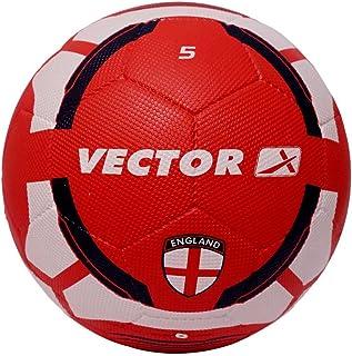 حذاء كرة قدم رجالي من فيكتور إكس إنجلترا -RB-5 - أبيض-أحمر، 5