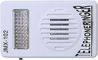 RJ11 Timbre del telefono - SODIAL(R)RJ11 Adaptador Anillo de telefono ruidoso Amplificador