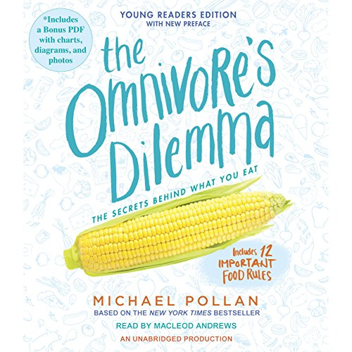 The Omnivore's Dilemma audiobook cover art