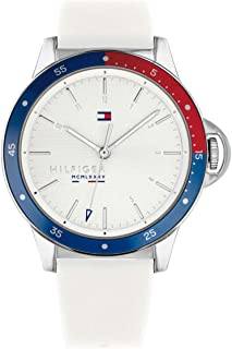 1782029 Tommy Hilfiger Diver Ladies Analog White Casual...