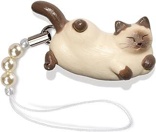 ペットラバーズ 猫どん LadyCat vol.5 シャム ビーズ ストラップ N-2510
