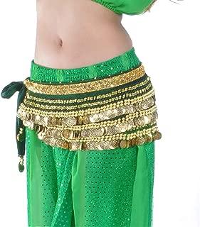 Fulision Comfortable Belly Dancing Hip Scarf Belt Fashion Women's Waist Chain