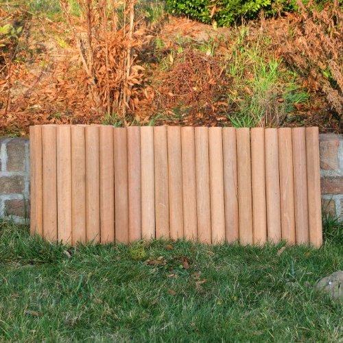 ROG garden-line 180 x 40 cm : BANGKIRAI ROLLBOARDER HARTHOLZ BEETUMRANDUNG RASENKANTE = 16,64 EUR/m
