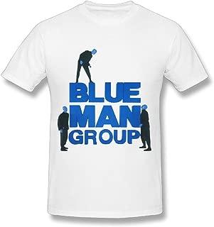 Love Blue Man Group Tour 2016 Design Mens T-Shirts White