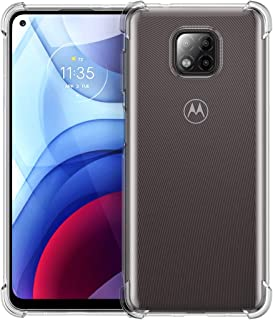 Foluu Moto G Power 2021 Case, for Motorola G Power 2021 Phone Case Clear, cratch Resistant TPU Rubber Soft Skin Silicone P...