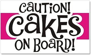 CafePress - Cakes On Board - - Car Magnet, 20