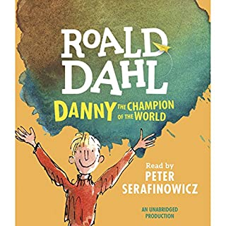 Danny the Champion of the World audiobook cover art