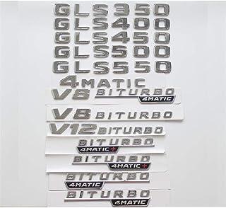 CXYYJGY Noir Mat CLA 45 Coffre de Voiture Lettres arri/ère Mot Badge embl/ème Lettre Autocollant AMG CLA Classe CLA45 AMG