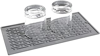 LIMNUO Silicone Drying Mat Easy Clean Dishwasher,Non-Slip,Safe Heat Resistant Trivet -Small (Pack of 1)