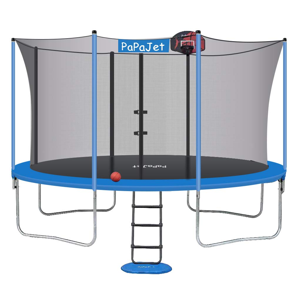 Papajet Trampoline Trampolines Certificated Basketball