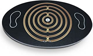 Challenge & Fun Labyrinth Balance Board, Sprint! With In-Line Marbles