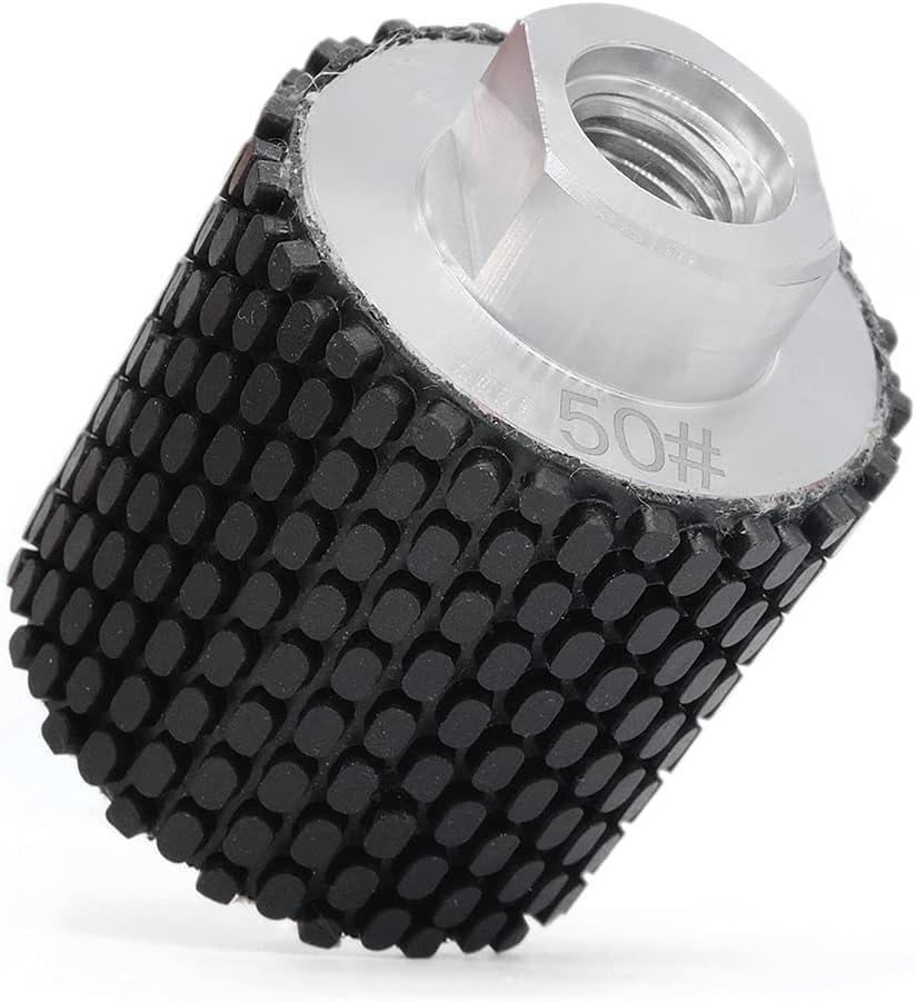 SUBRILLI 2-Inch Diamond Drum Store Wheel Grit Co for Granite Marble 50 Direct store
