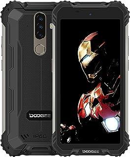 DOOGEE S58 Pro Smartphone 6 GB RAM + 64 GB ROM, Android 10 camera aan de voorkant 16 MP (Samsung), 5180 mAh CPU Helio P22,...