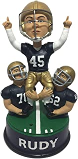Rudy Ruettiger Notre Dame Fightin Irish Talking Celebration Bobblehead NCAA