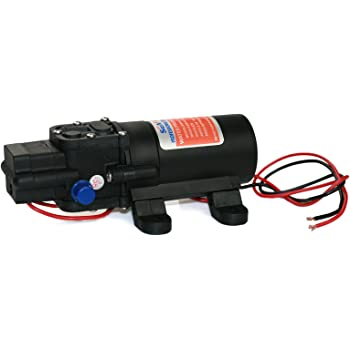Seaflo Water Pressure Pump 12V DC 1.2 GPM 35 PSI 21 Series Diaphragm for Caravan RV Marine Fishing Boat