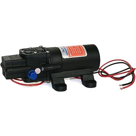 Seaflo 12V DC 1.2 GPM 35 PSI 21-Series Diaphragm Water Pressure Pump for Caravan/RV/Boat/Marine