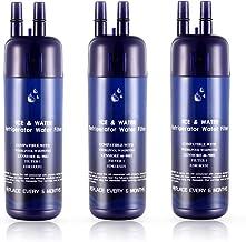 FFROI W10295370A Water Filter Cap Replacement for W10295370 P8RFWB2L 3Pack Kenmore 46-9930 EDR1RXD1 Filter 1 Kenmore 9081 P4RFWB