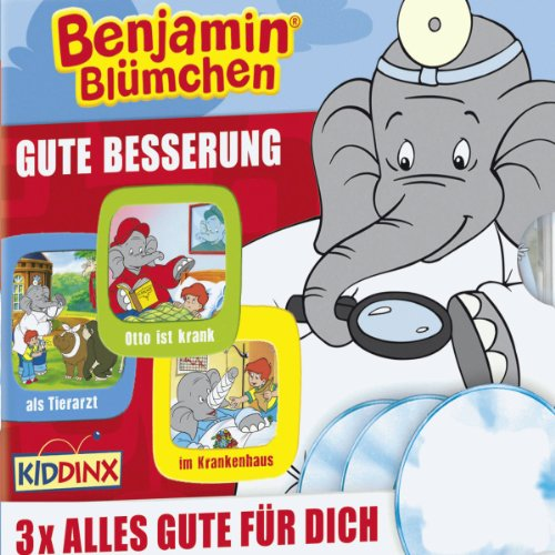 Benjamin Blümchen 3er-Box: Gute Besserung                   By:                                                                                                                                 Elfie Donnelly,                                                                                        Ulli Herzog,                                                                                        Klaus-Peter Weigand                               Narrated by:                                                                                                                                 Jürgen Kluckert,                                                                                        Katja Primel,                                                                                        Joachim Nottke                      Length: 2 hrs and 8 mins     Not rated yet     Overall 0.0