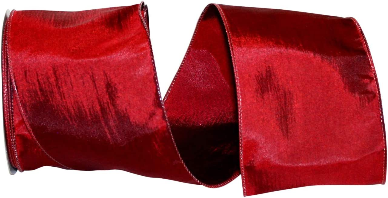 Black 1-1//2 Inch X 25 Yards Reliant Ribbon Katy May 2 Wired Edge Ribbon