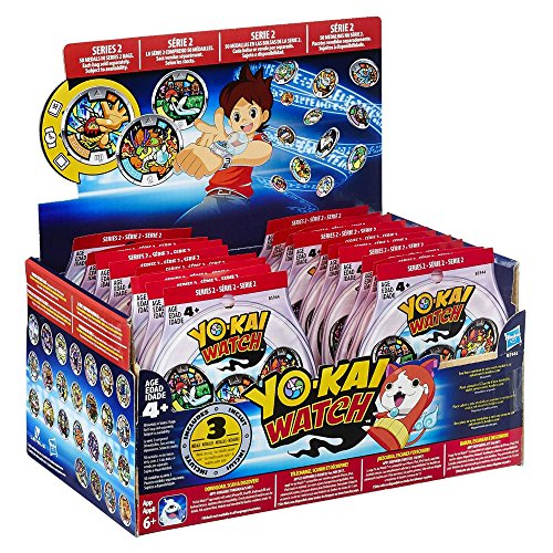 Yo-Kai Watch Series 2 YOKAI MEDALS Mystery Box [24 Packs]