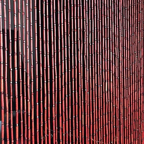 Vorhänge Wärmeschutzvorhang Natürlich Bambus Perlenvorhang Trenndrahtvorhang Hängeschiene Hohles Bambusrohr Handgemacht Wohnzimmer Schlafzimmer Dekorative Lsxiao
