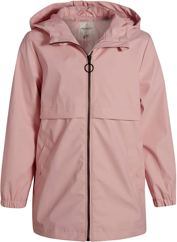 Urban Republic Girls Lightweight Raincoat Waterproof Rai Vinyl Regular Very popular discount -
