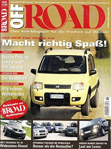 Off Road - Das 4x4-Magazin für die Freiheit auf Rädern: Der neue Fiat Panda macht richtig Spaß / Dauertest:...