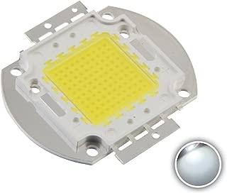 Chanzon High Power Led Chip 100W White (6000K-6500K / 3000mA / DC 30V-34V / 100 Watt) Super Bright Intensity SMD COB Light Emitter Components Diode 100 W Bulb Lamp Beads DIY Lighting
