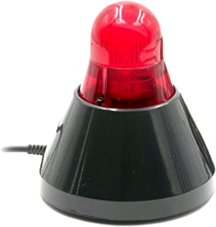 BusyBuddy Premium Busy Light and Online Indicator. Works with 98% of all Office Headsets and Office Phones - Lights Up When You're On a Phone Call