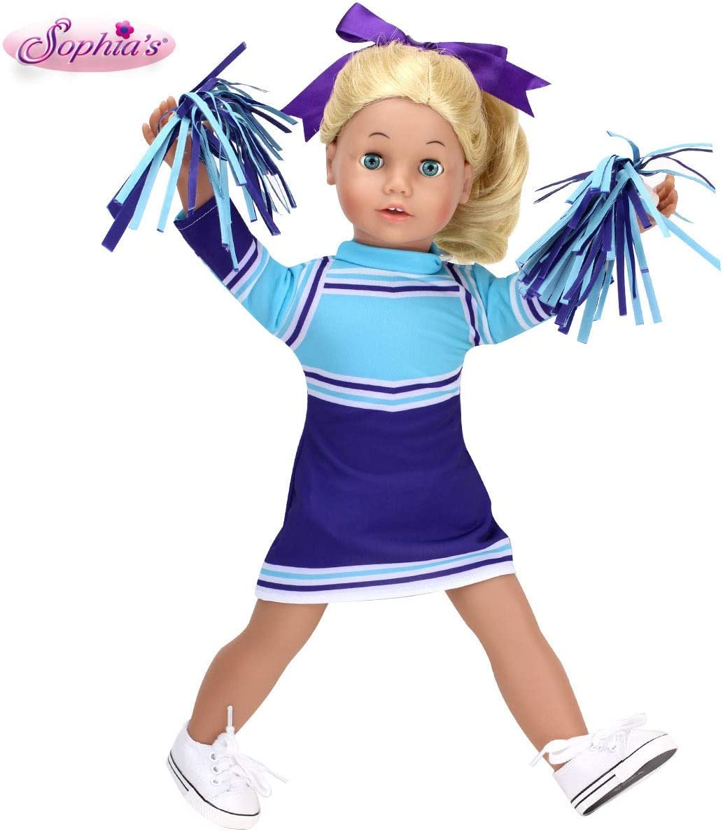 Challenge the lowest price Sophia's Columbus Mall Doll Clothes Cheerleading Set: Includes Screen Pur Silk