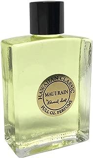 Hawaiian Maui Rain Perfume in Clear Glass Bottle 1 oz by Edward Bell