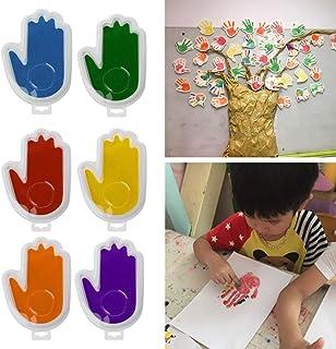 3D Baby Hand Fuß Druck Gips Casting Kit Handabdruck Fußabdruck Keepsake Dekor CJ