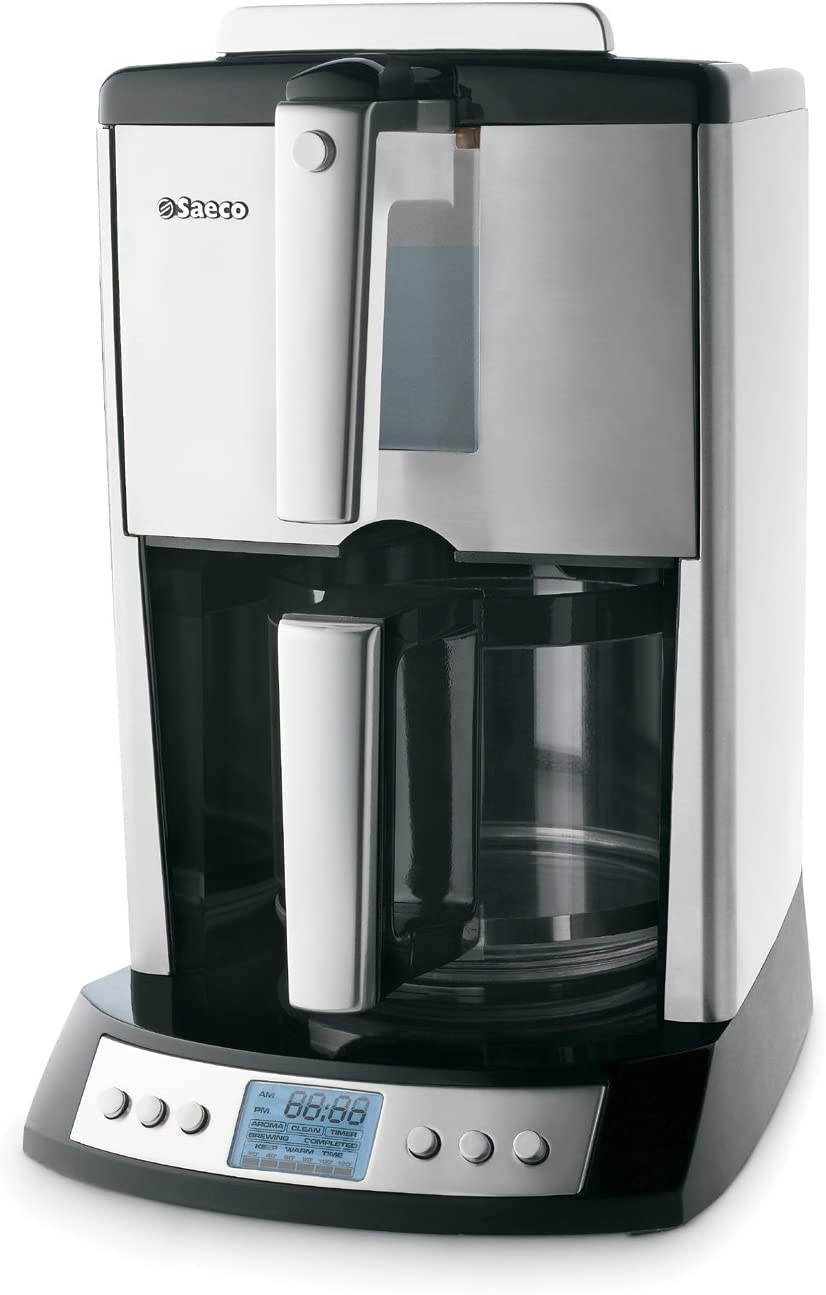 Saeco Easy Fill 12-Cup Automatic 5 ☆ very popular Maker Stainless Drip Coffee St Washington Mall