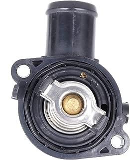 cciyu 5184570AH 5184570AG Engine Coolant Thermostat Housing Kit Water Outlet Thermostat Housing Kit Replacement fit for 2011 2012 2013 2014 2015 2016 2017 2018 Dodge Journey Dodge Grand Caravan