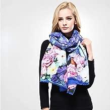 Wrap Shawl شال Scarf Designer Winter Scarf Women Shawl Printing Wrap Scarves Woman Foulard Warm Wool Cashmere Echarpe (Color : 01)