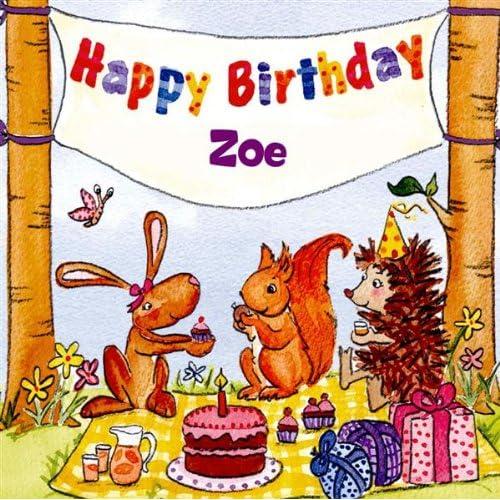Happy Birthday Zoe By The Birthday Bunch On Amazon Music Amazon Com