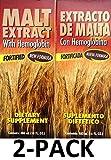 Extracto de Malta Con Hemoglobina 16 oz. Menper 2-Pack