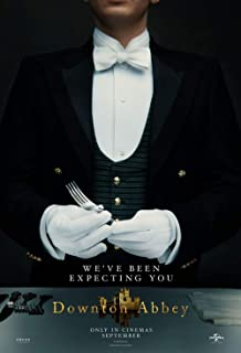 skyhighprint - Downton Abbey Art Print Reproduction Movie Poster 28'' X 18''