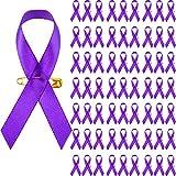 Purple Awareness Ribbon Pins Purple Ribbon...