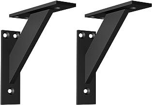 Plankdragers muur plank beugels metaal aluminium decoratie plank beugel 3-delige hoek ondersteuning wandconsole zware last...