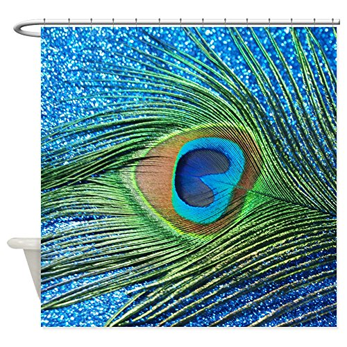 Glitter Peacock Shower Curtain - Best Reviews and Price cover image