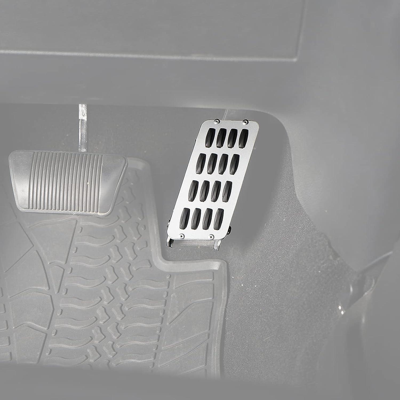 u-Box for Jeep JK Wrangler Gas Tucson Mall Cover Short Metal Pedal Extender Popular