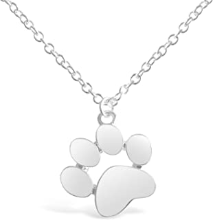 Paw Print Necklace, Paw Necklace, Dog Necklace, Dog Jewelry for Women, Dog Paw Necklace, Dog Pendant, Dog Necklaces for Women