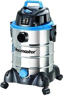 Vacmaster, VQ607SFD, 6 Gallon 3 Peak HP Stainless Steel Wet/Dry Shop Vacuum