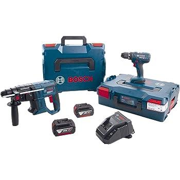 Bosch 0615990K3Z Kit de batterie GSR 18V-28 + GBH 18V-20 18 V / 4,0 Ah (IEC) Li-Ion 7 pièces