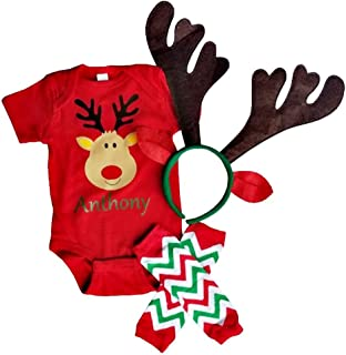 reindeer leggings baby