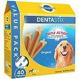 PEDIGREE DENTASTIX Large Dog Dental Treats Original Flavor Dental Bones, 2.08...