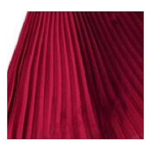 57335f44b L&L® Ladies High Waist Elastic Waist Band Nieve Pleated Casual Midi Skirt